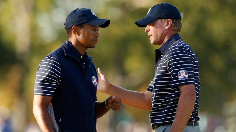 Tiger Woods: Steve Stricker was unanimous choice for 2020 Ryder Cup captaincy