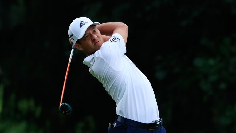 Xander Schauffele has a two-shot lead at the halfway stage