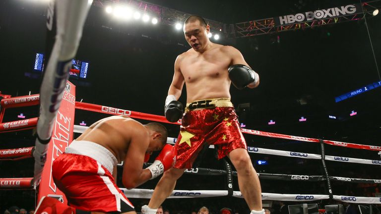 Zhang is ranked in the top 15 by the WBO and IBF governing bodies