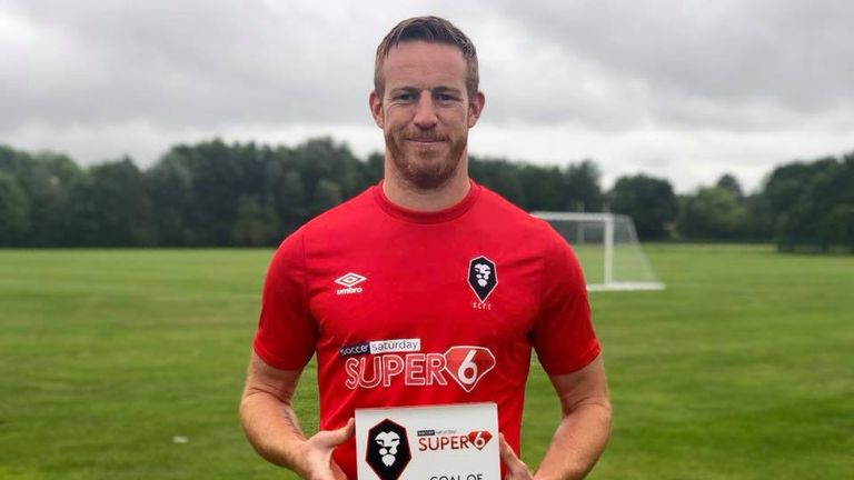 Adam Rooney has found the net seven times this season