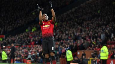 Anthony Martial is close to agreeing a new deal with Man Utd