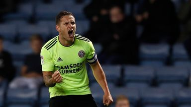 Sheffield United's Billy Sharp came off the bench to score