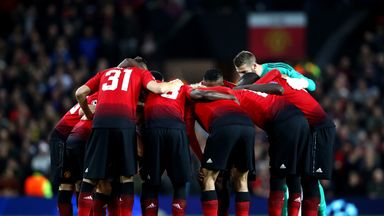 Manchester United arrived late to their Champions League game against Valencia at Old Trafford