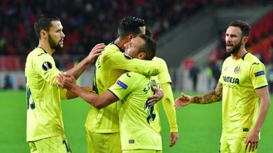 Santi Cazorla scores his first goal in over two years in Villarreal's dramatic 3-3 draw with Spartak Moscow