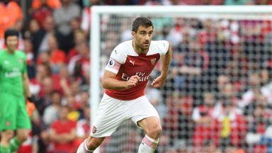 fifa live scores -                               Sokratis injury concern for Arsenal