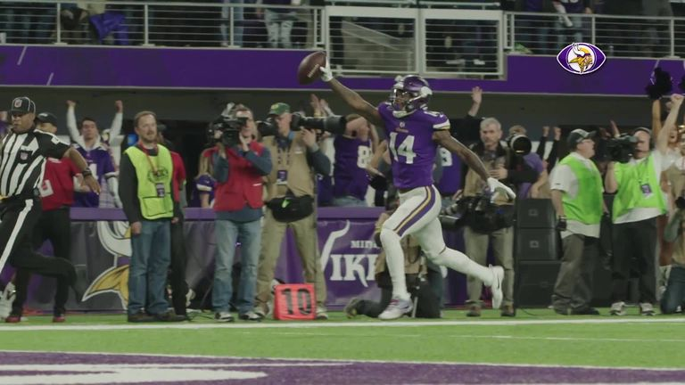 Relive the 'Minnesota Miracle' as the Vikings take on New Orleans Saints this Sunday night