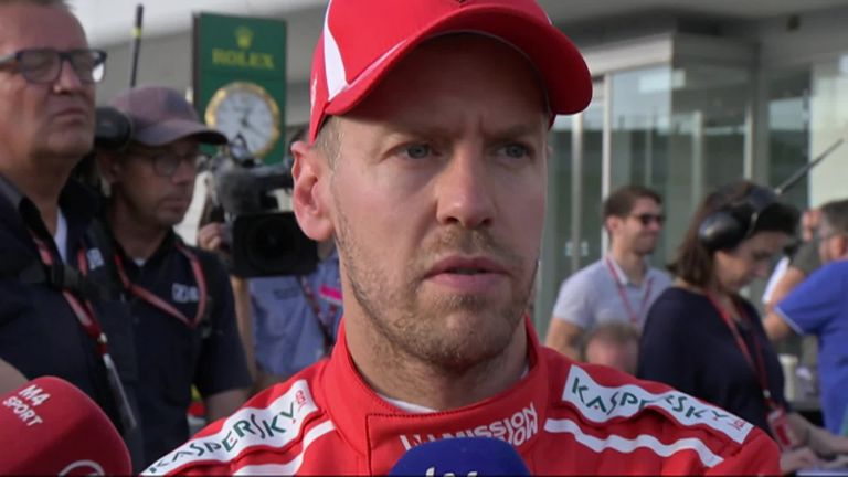 Sebastian Vettel discusses his move on Max Verstappen, and the disappointing weekend at the Japanese GP.