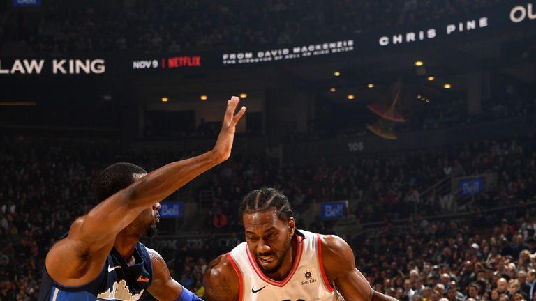 Kawhi Leonard led the Raptors with 21 points