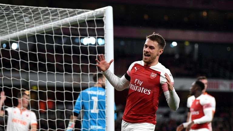 Unai Emery agrees with Arsenal for Ramsey replacement
