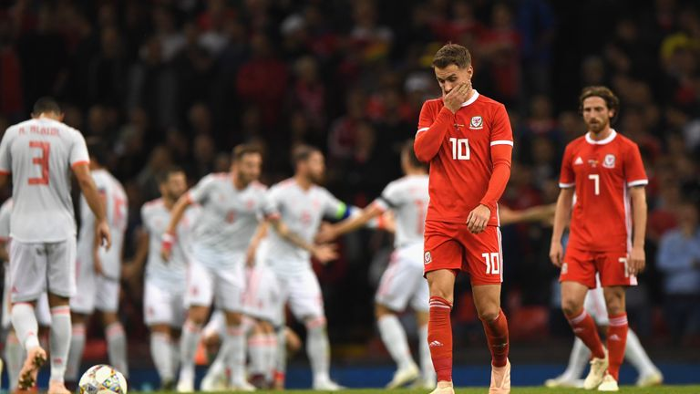 Wales lost 4-1 against Spain in a friendly earlier this week