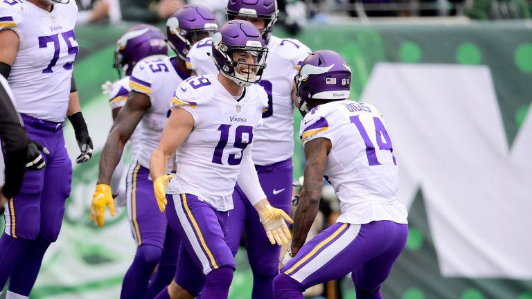 Vikings receiver Adam Thielen is on an NFL-record run