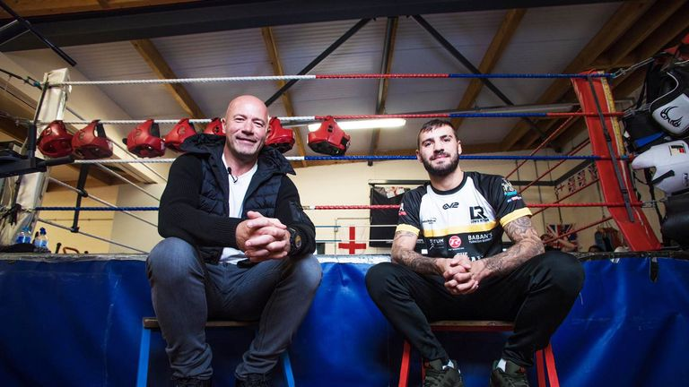 Lewis Ritson met his hero ahead of his biggest fight so far