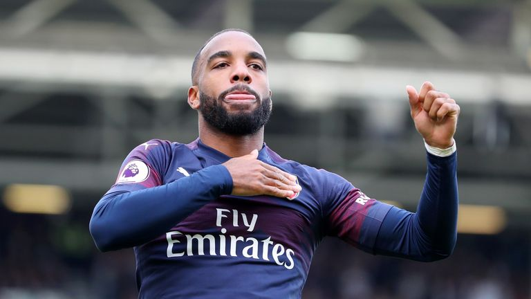 Alexandre Lacazette has been in fine form for Arsenal