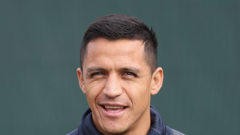 Alexis Sanchez appears to take final dig at Jose Mourinho