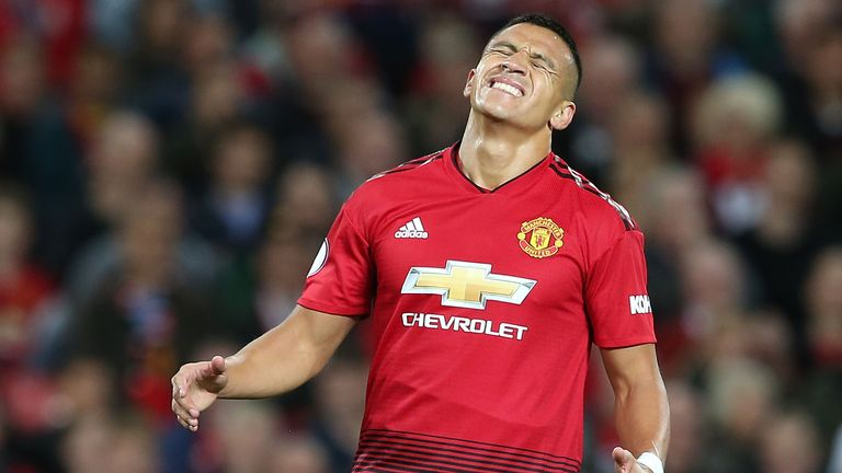 Alexis Sanchez was left out of the squad to face Young Boys on Tuesday