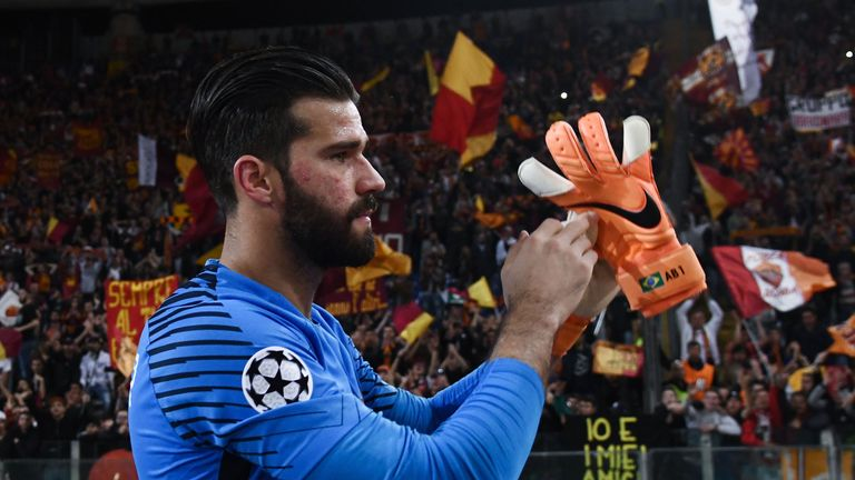 Alisson says it was emotional to leave the Italian capital
