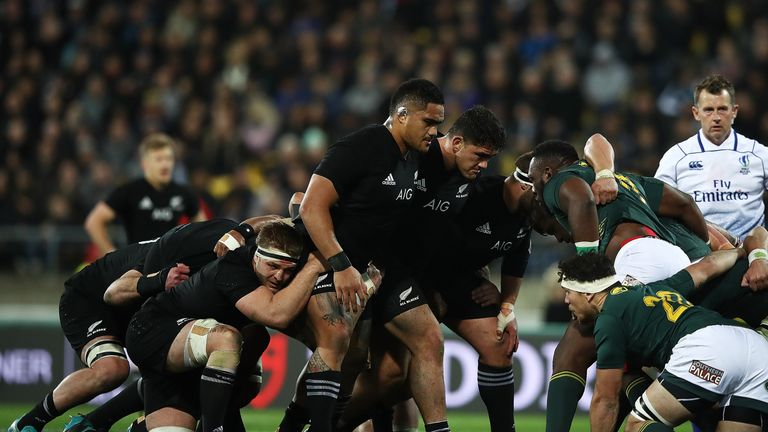 Broken neck rules All Black Cane out of Ireland clash