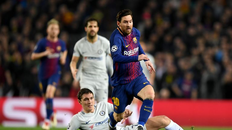 Andreas Christensen made 40 appearances for Chelsea last season, including both legs of the Champions League tie against Barcelona