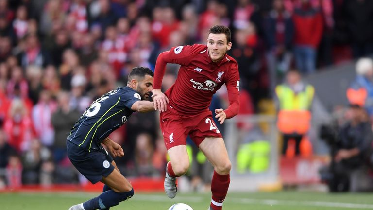 Liverpool and City played out a goalless draw at Anfield last season