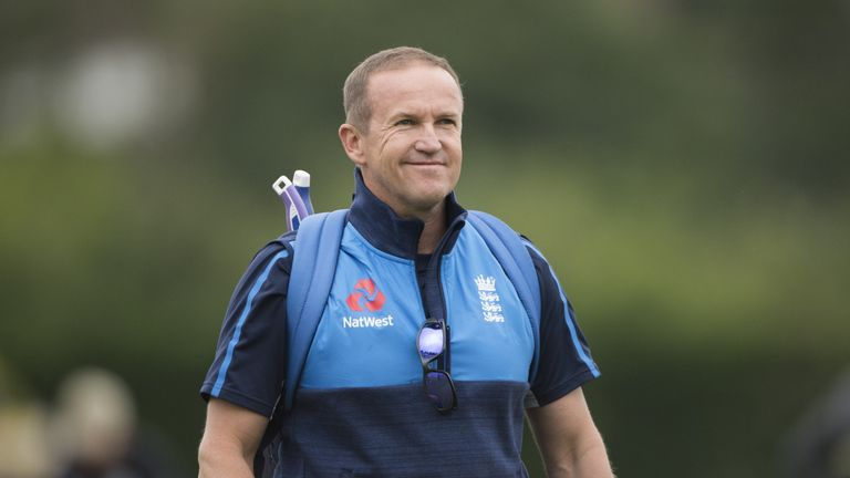 Andy Flower will continue to fill in for Strauss until the end of the year