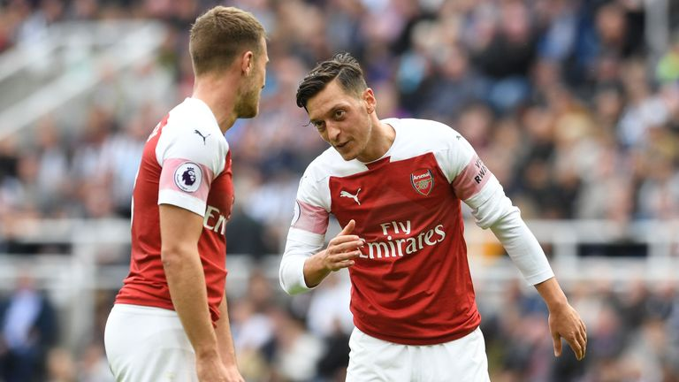 Newcastle lost 2-1 at home to Arsenal on September 15