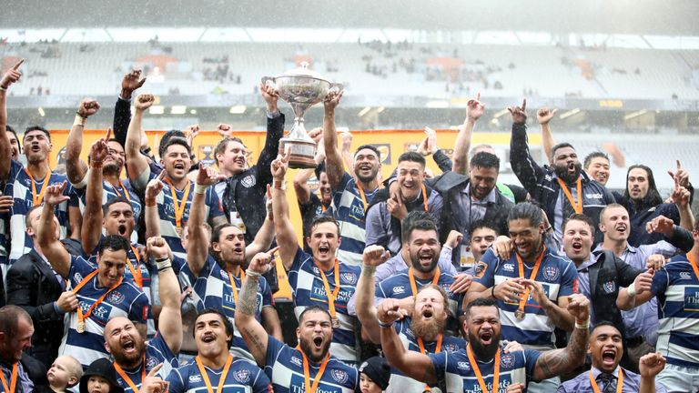 Image result for auckland holding the cup 2018 union