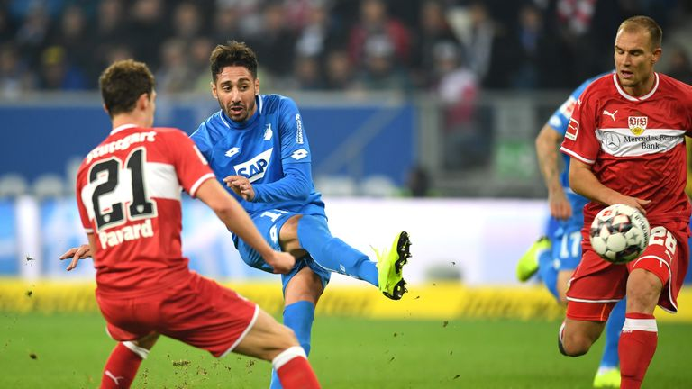 Ishak Belfodil has four Bundesliga goals in nine games