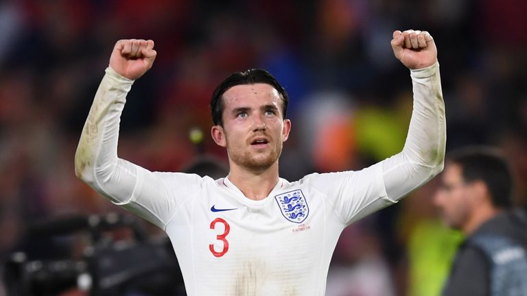 Ben Chilwell made his England debut in September