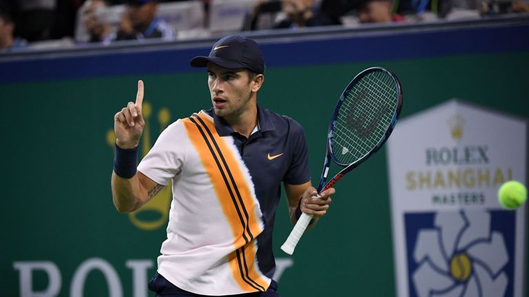 Borna Coric beat Stan Wawrinka for the first time in four meetings