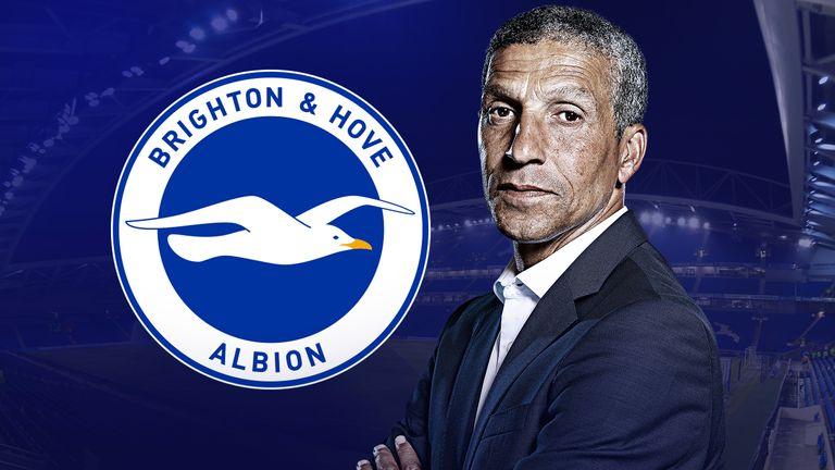 Chris Hughton's Brighton face West Ham on Friday