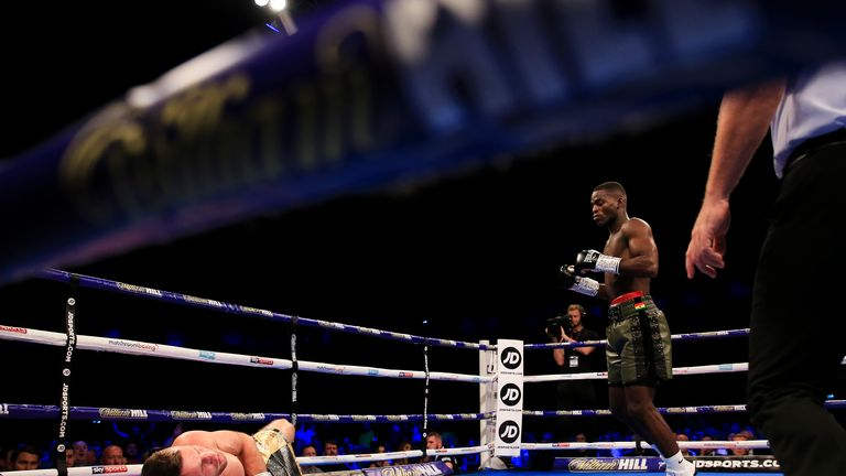 Joshua Buatsi outclassed Tony Averlant and twice had his man on the canvas