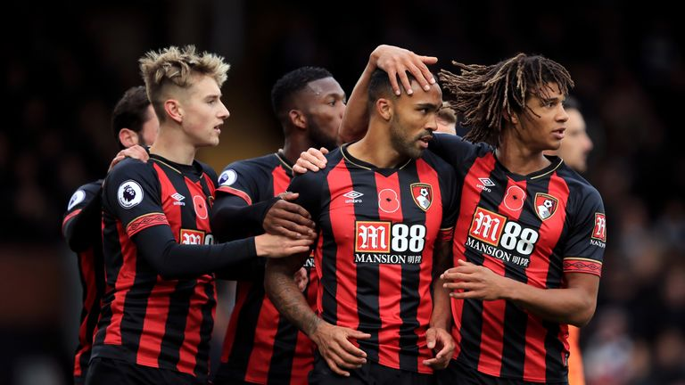 Bournemouth are sixth in the Premier League