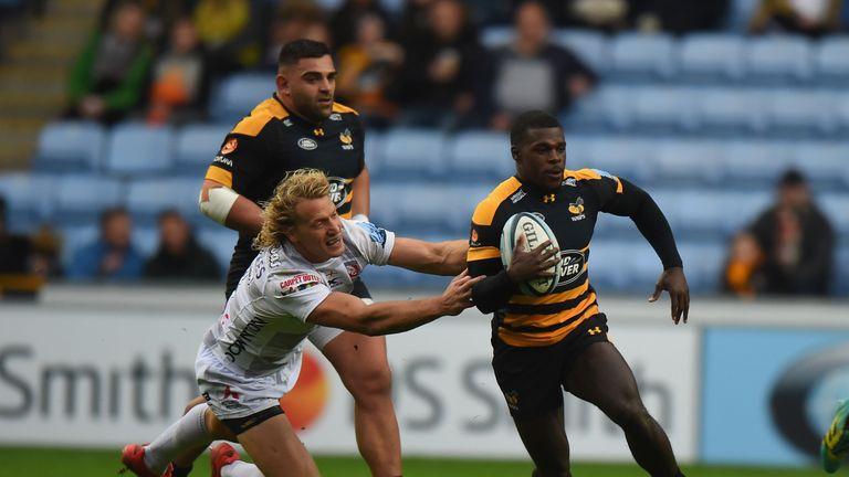 Jones says Christian Wade was unlucky to come through in a strong period for English wingers