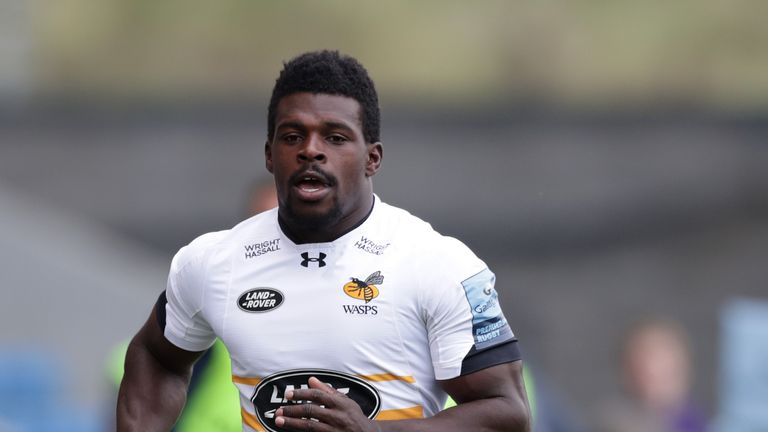 Christian Wade has 82 Premiership tries and one England cap - earned back in 2013