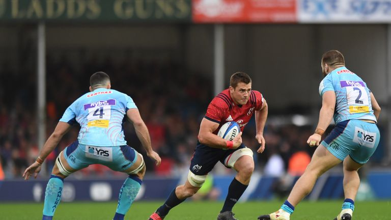 CJ Stander scored a crucial second-half try as Munster came back to level the game