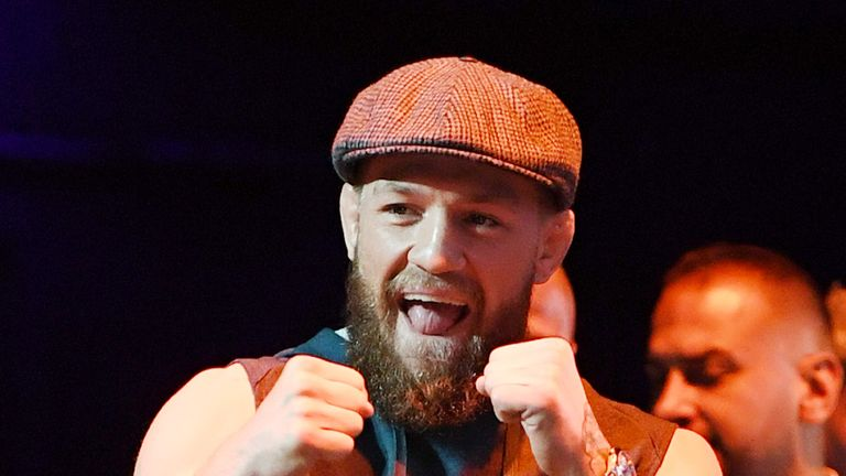 Conor McGregor has hinted he could make a return to the Octagon