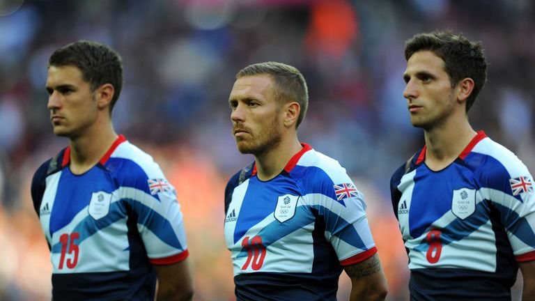 Craig Bellamy and Aaron Ramsey played for Team GB at London 2012