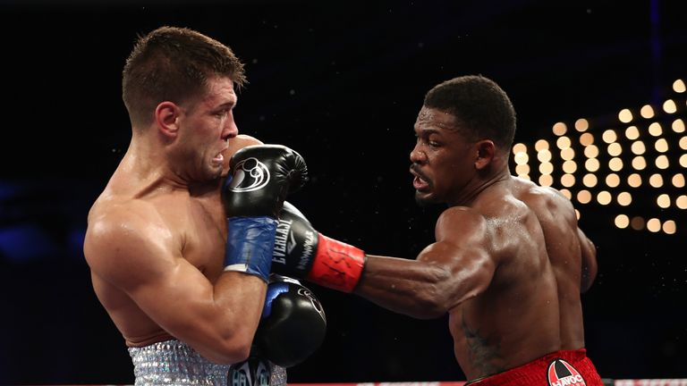 Sergiy Derevyanchenko emerged with credit from defeat to Daniel Jacobs