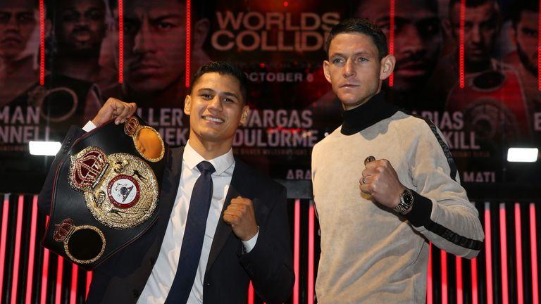 Gavin McDonnell challenges WBA super-bantamweight holder Daniel Roman