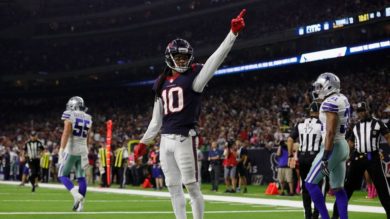 Houston have relied on DeAndre Hopkins heavily and he has come through