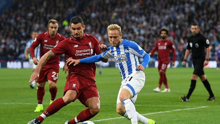 Dejan  Lovren made 11 clearances, two tackles and two blocks against Huddersfield
