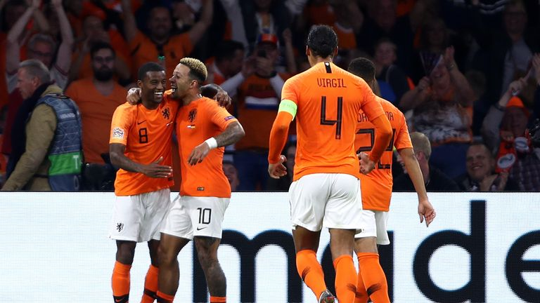 Georginio Wijnaldum put the icing on the cake with Netherlands' third in injury time