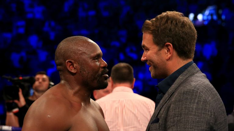 Chisora plans to hold more talks with promoter Eddie Hearn next week