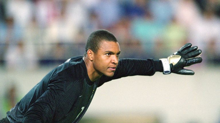 Brazil goalkeeper Dida iwon the Champions League twice with AC Milan