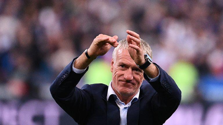 Didier Deschamps' side were last beaten by Colombia last March