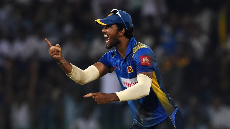 Former captain Dinesh Chandimal misses out on selection in Sri Lanka's World Cup squad