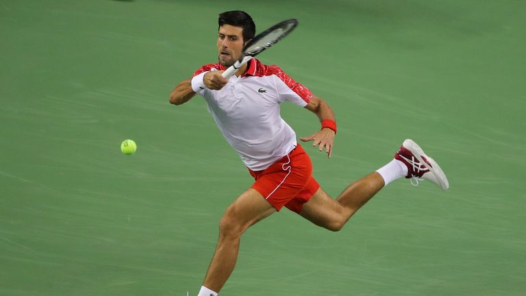 Novak Djokovic confesses to nerves in Marco Cecchinato rematch — ATP Shanghai