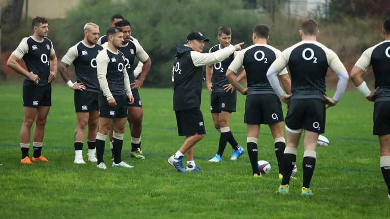 England head coach Eddie Jones will name his team for Saturday's match against South Africa on Thursday