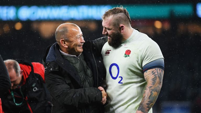 during the Old Mutual Wealth Series match between England and Australia at Twickenham Stadium on November 18, 2017 in London, England.