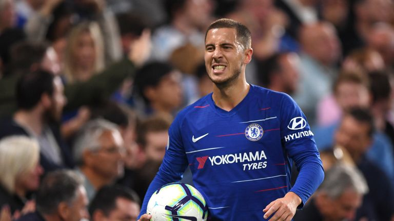 Eden Hazard caps sensational September with Player of the Month Award